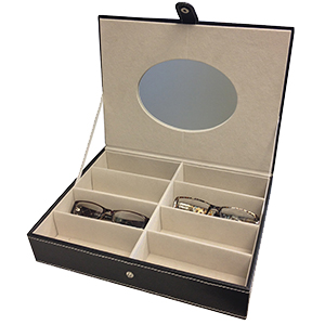 Frame Presentation Case with Mirror -8-Cavity