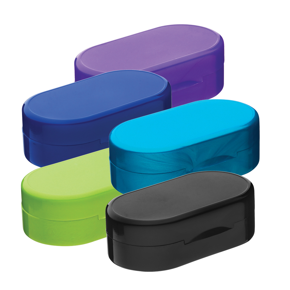 Solid Color Compact Cases - Set