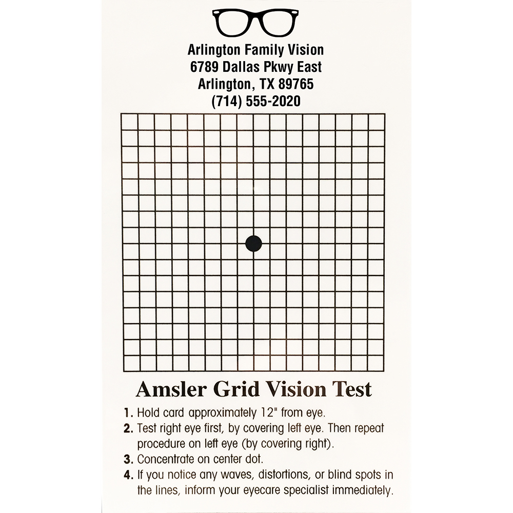 Imprinted Magnetic Modified Amsler Grid