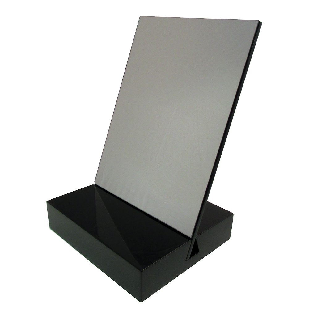 Mirror with Black Base