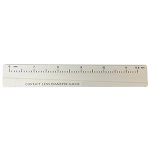 Economy Contact Lens Diameter Gauge