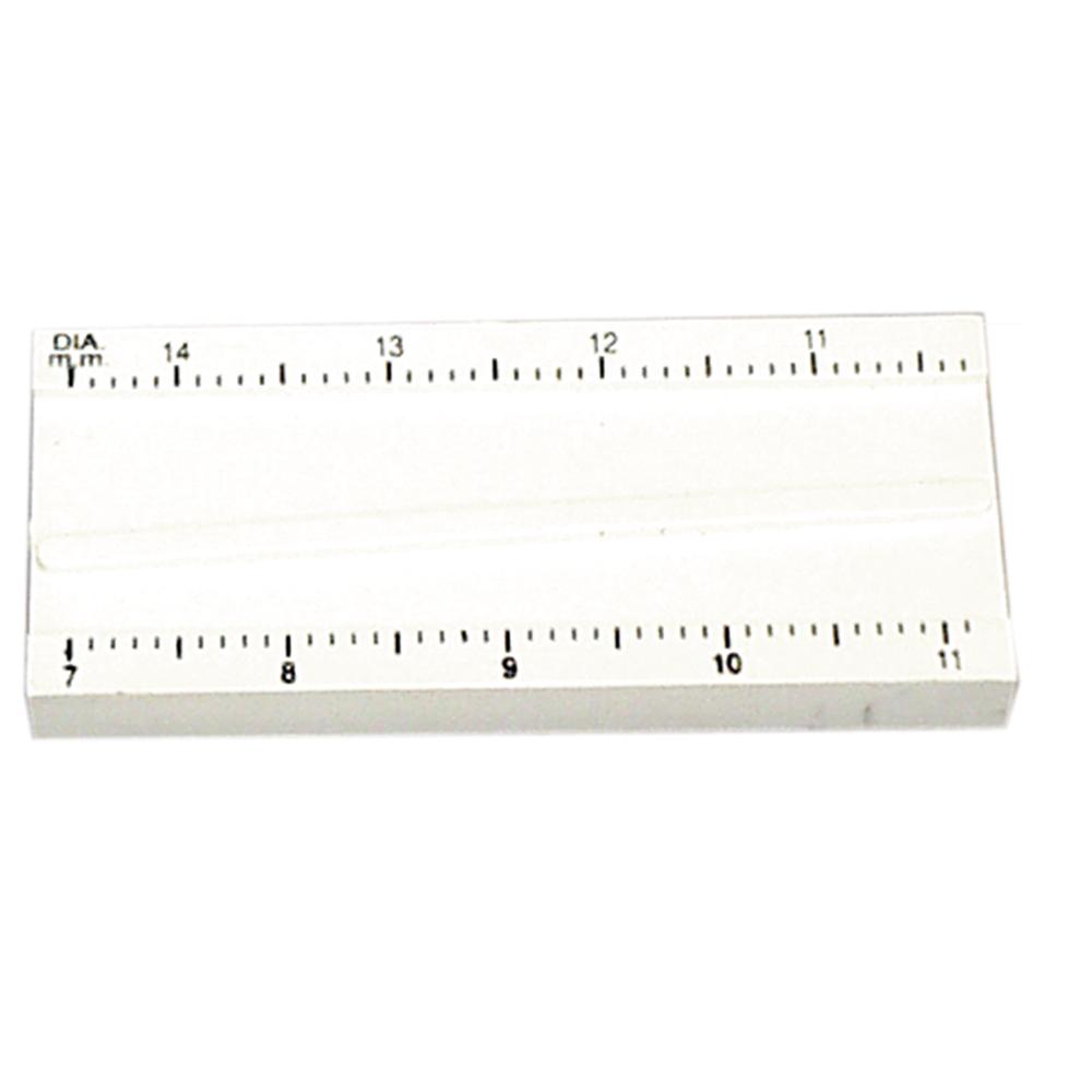 Contact Lens Diameter Gauge