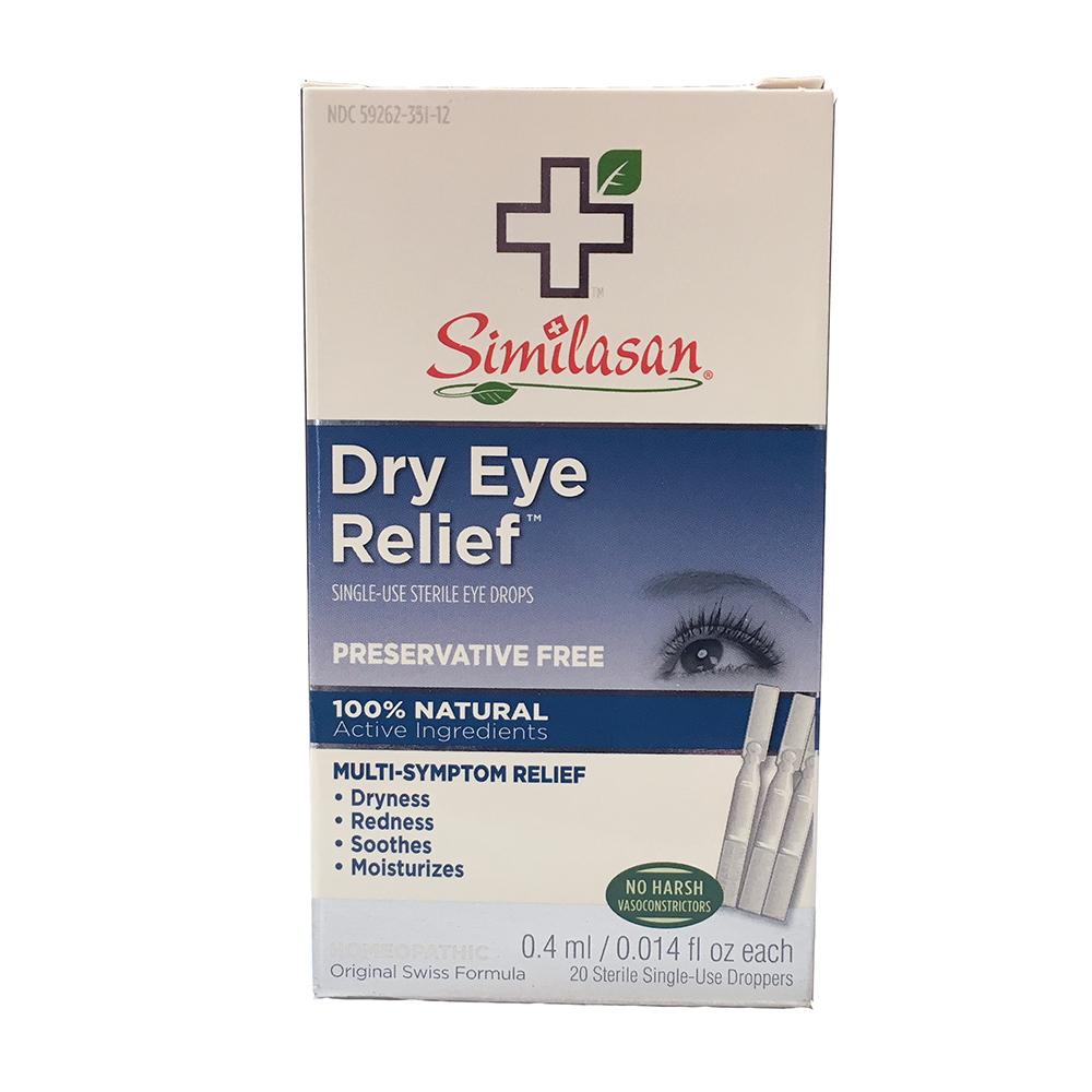 Similasan Dry Eye Drops #1 - Single Use Droppers