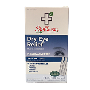 Related Product: Similasan Dry Eye Drops #1 - Single Use Droppers
