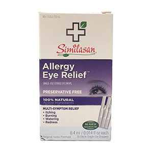 Similasan Eye Drops #2 - Single Use Droppers