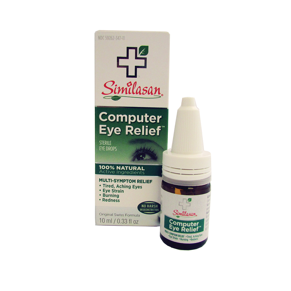 Similasan Computer Eye Drop #3  - 10ml Bottle