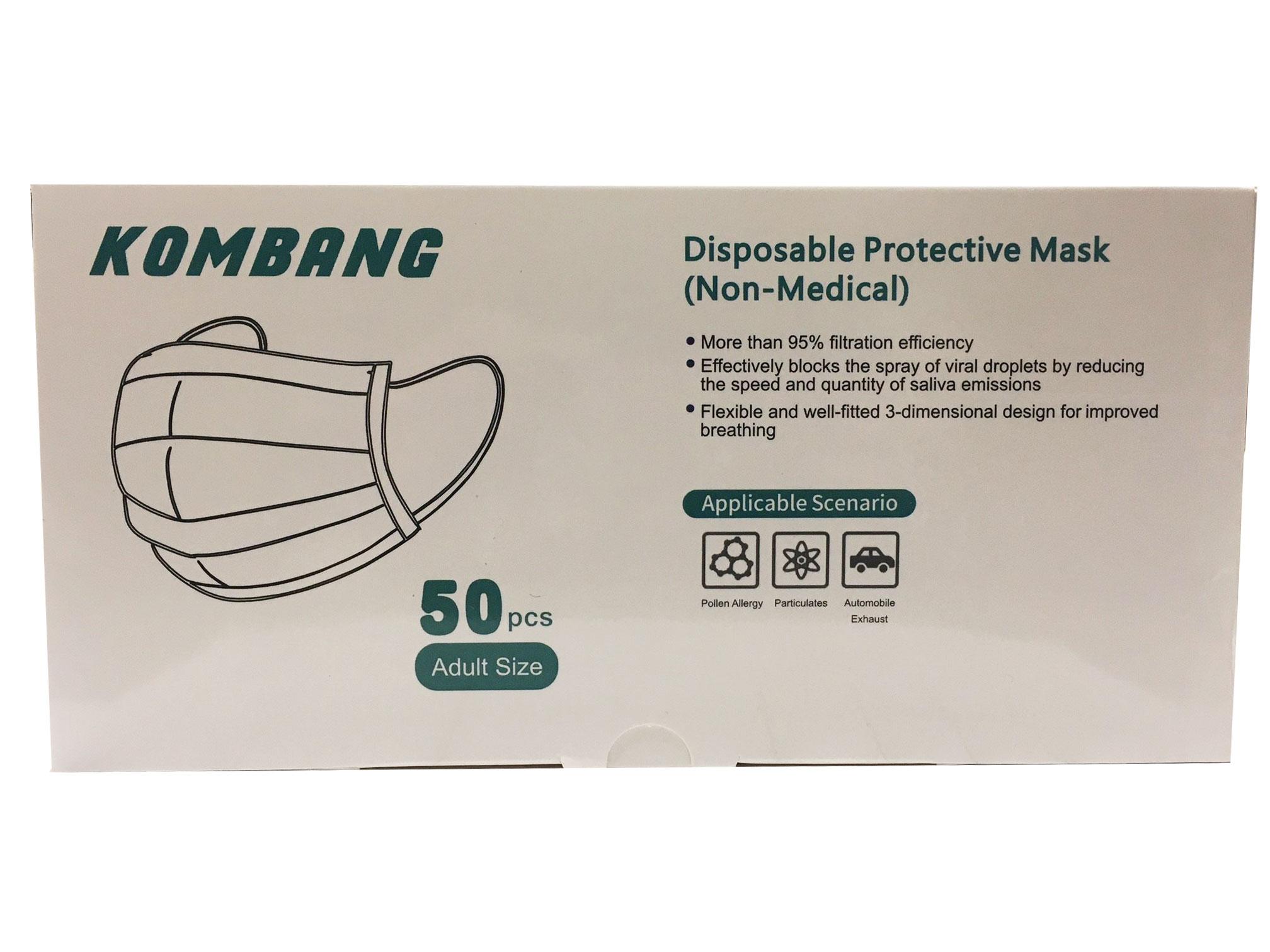 Disposable Yellow Masks