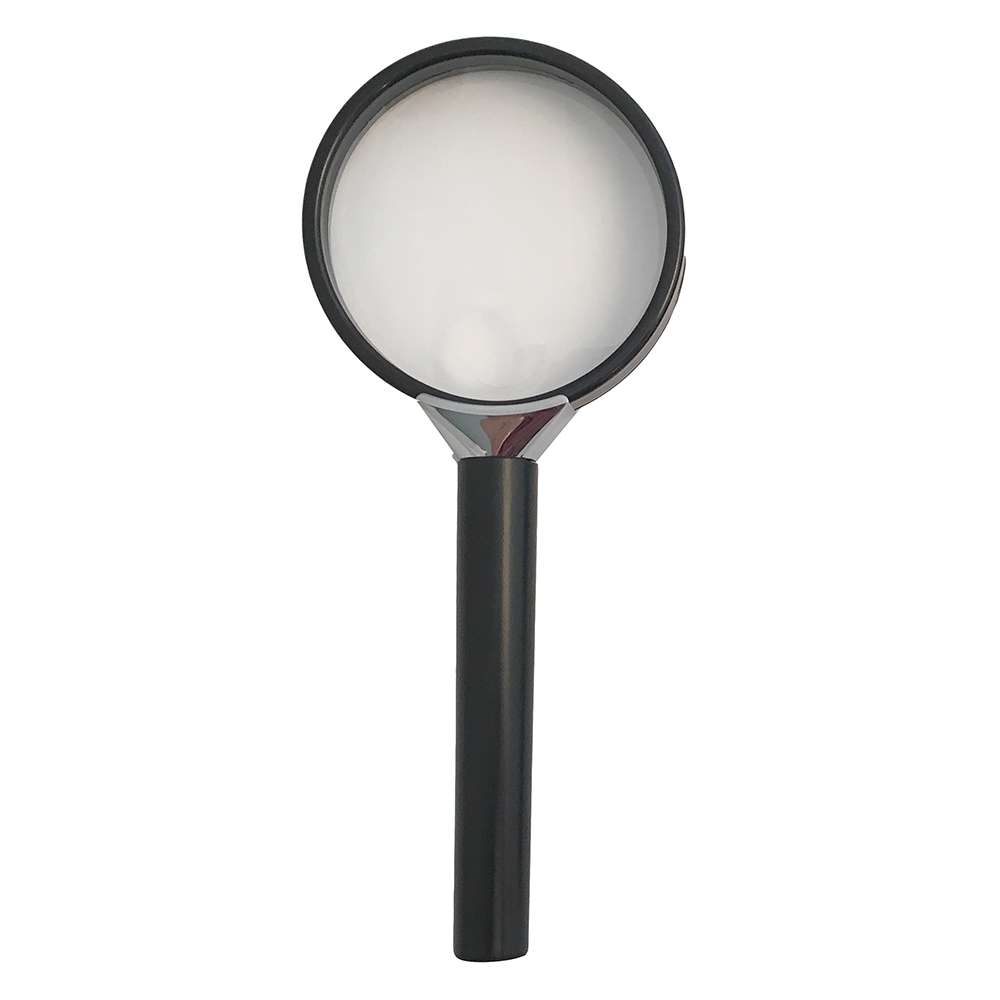 "Handheld Magnifier with 2.5"" Lens Diameter"