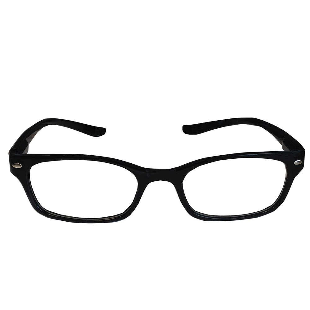 Neck Specs Large Black Frame