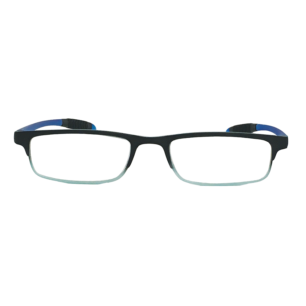 Gradient Blue Reader with Anti-Reflective Coated Lenses