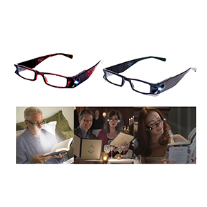 Related Product: Liberty LightSpecs™ Lighted Reading Glasses