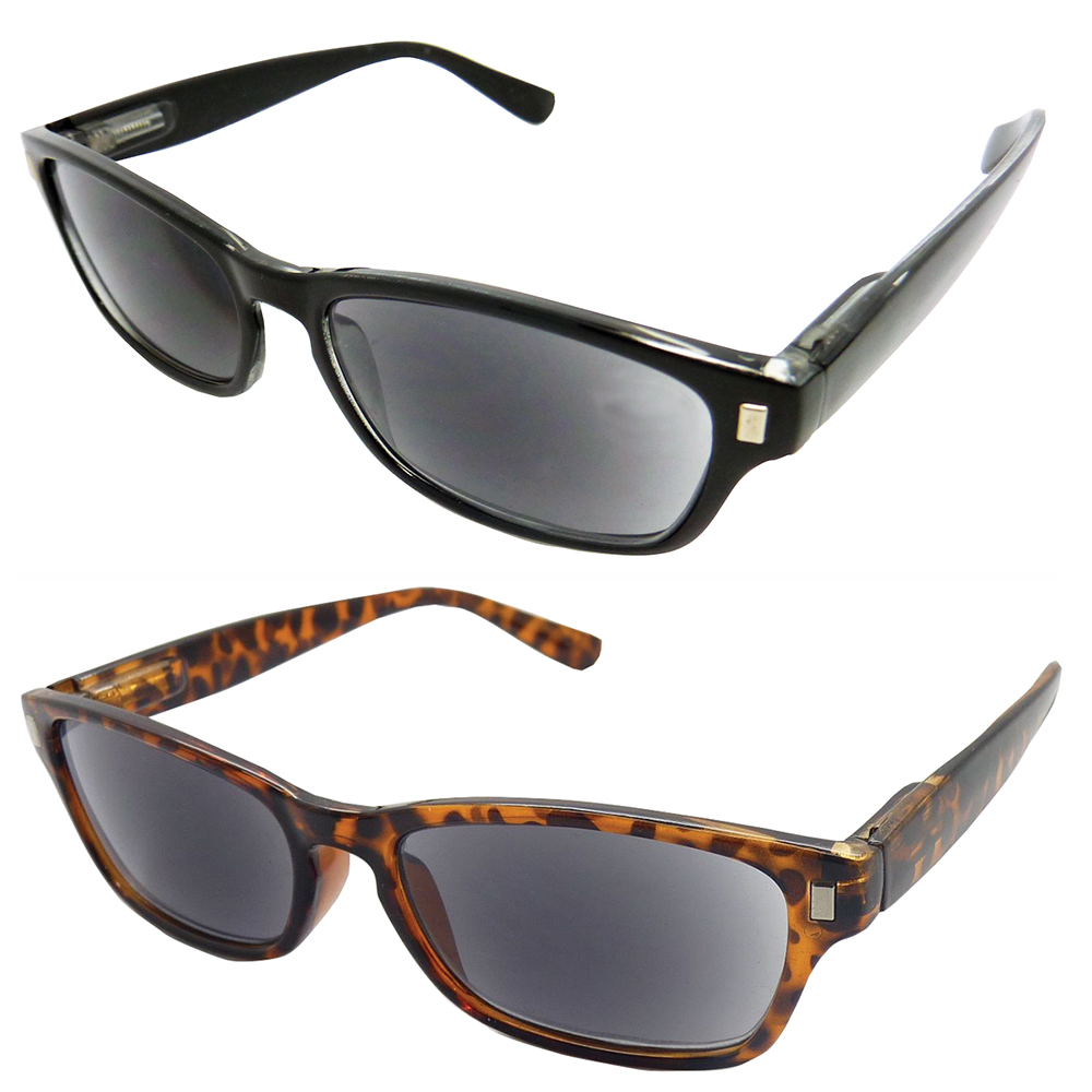 Spring Hinge Sunglass Readers (Polycarbonate Lenses)