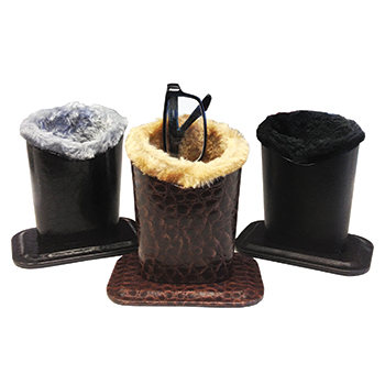 Fur Lined Eyeglass Holders
