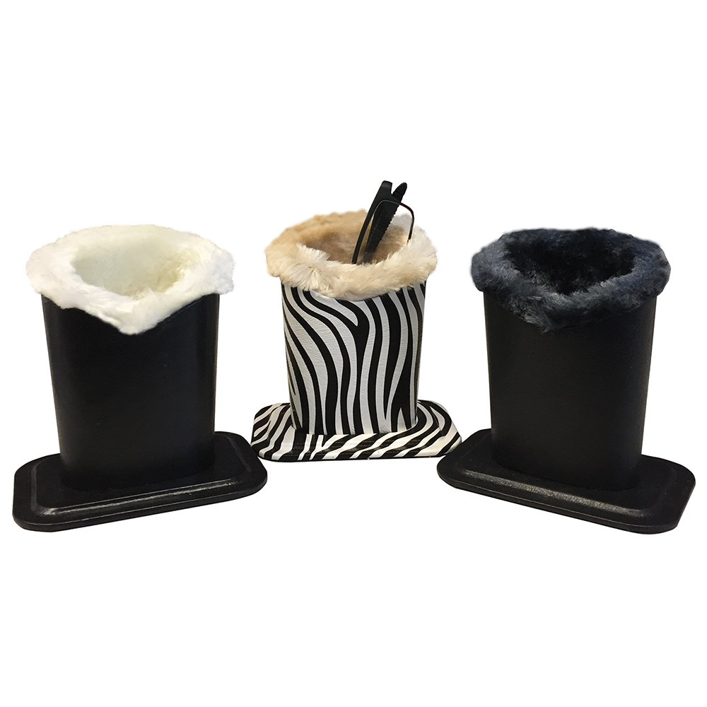 Fur Lined Eyeglass Caddies