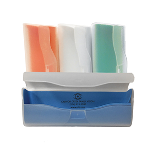 Related Product: Translucent Fold Over Plastic Case w/Personalized Liner