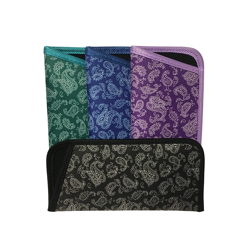 Paisley Fabric Slip-In - by the case (500 Cases)