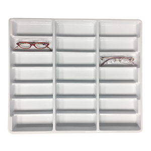 Frame Storage Trays - (No Lid)  - Frame Capacity: 21