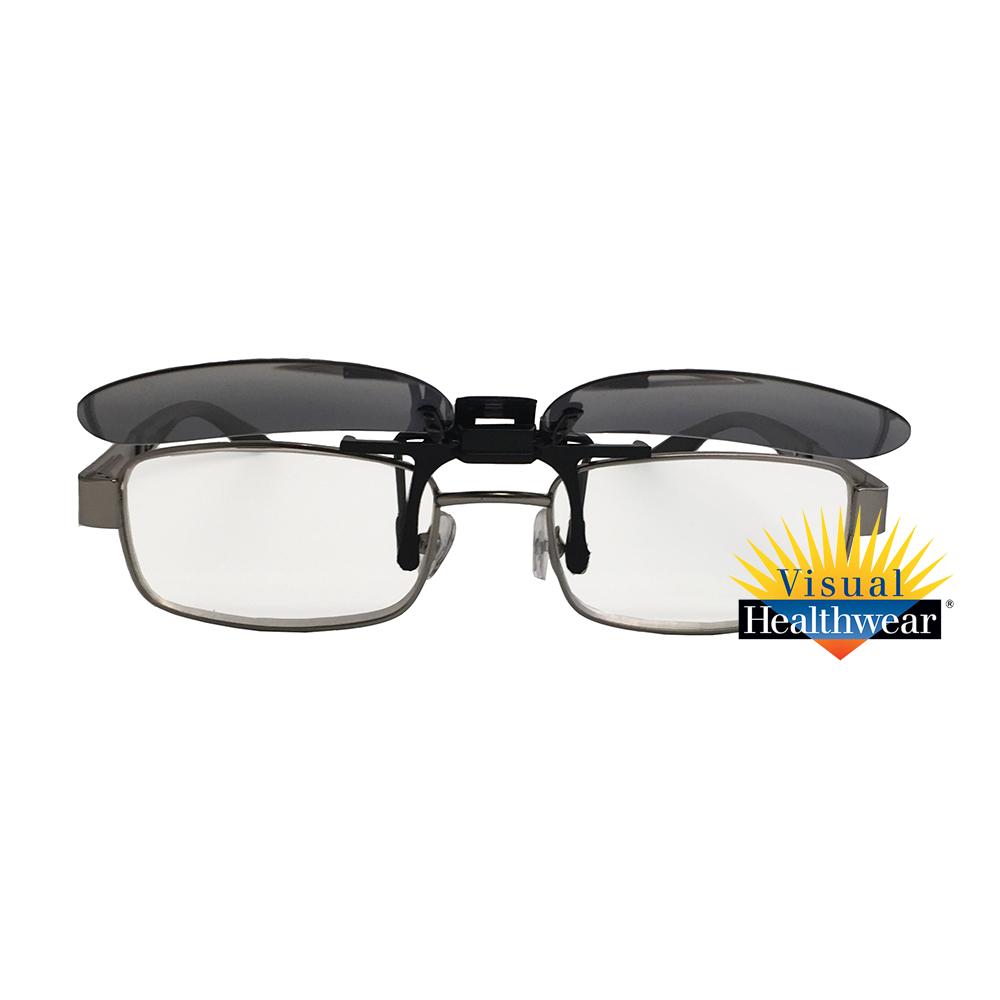Flip-Up Sunglasses - Square (Small & Medium)