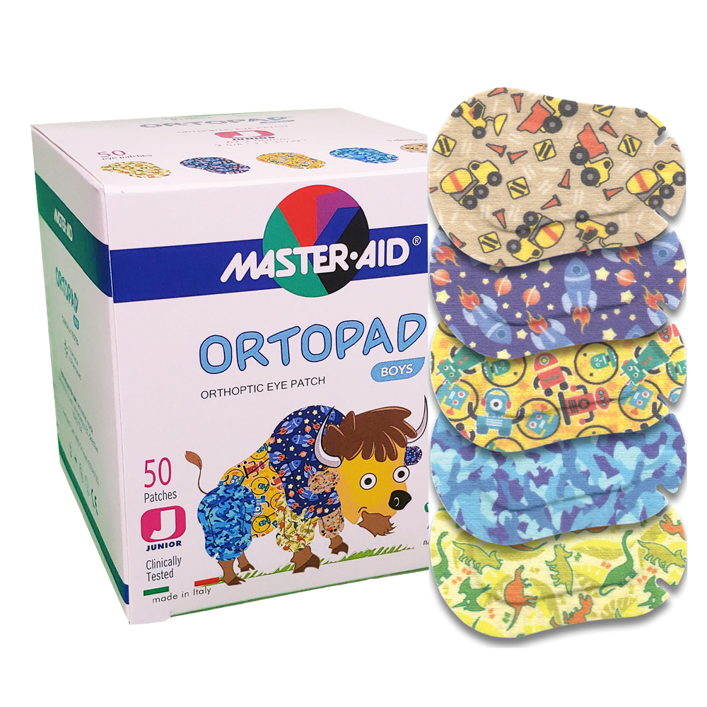 Ortopad® Adhesive Eye Patches - Boys