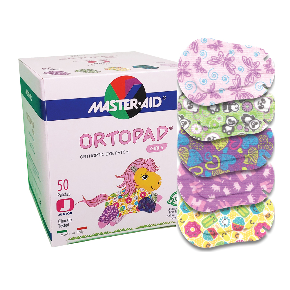 Ortopad® Adhesive Eye Patches - Girls