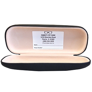 Eyeglass Case Labels