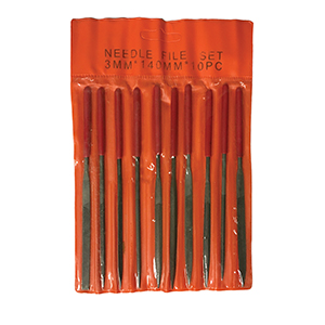 Ten Piece Needle File Set