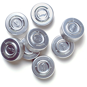 Aluminum Vial Caps -200 Caps