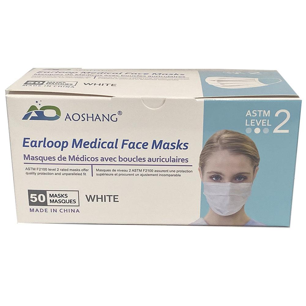 ASTM Level 2 Earloop Medical Face Masks