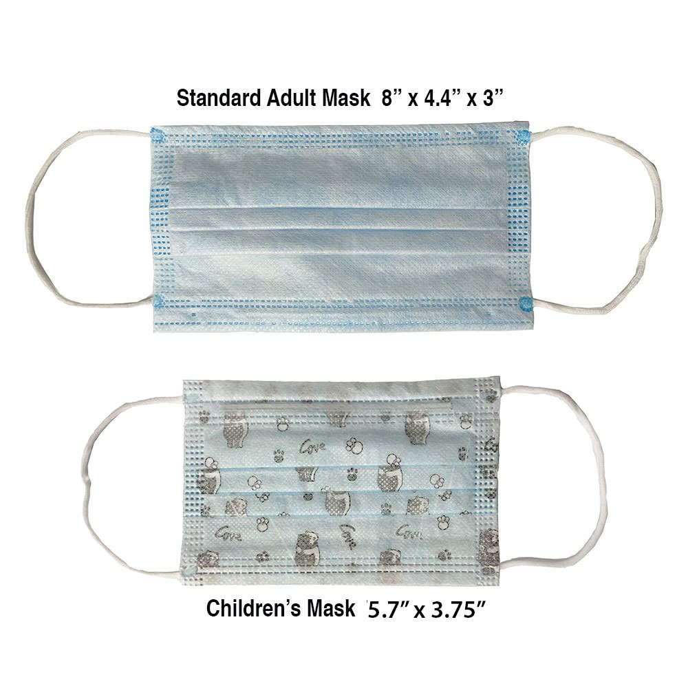 Children's 3 ply Masks
