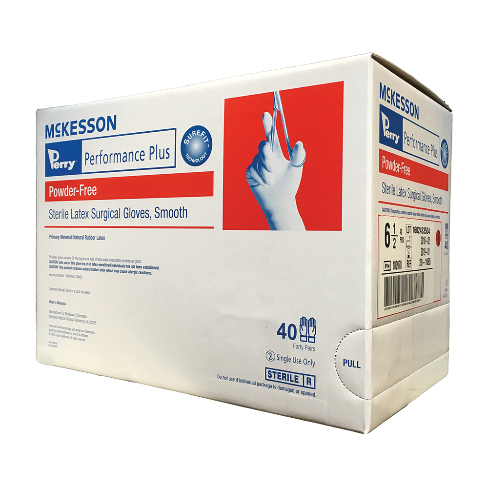 Latex Surgical Gloves - Powder-Free