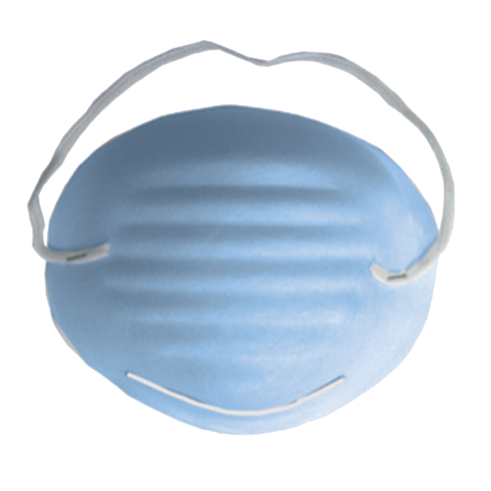 Molded Surgical Mask with Elastic Band