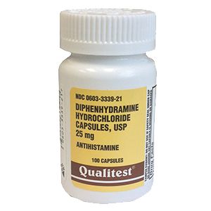 Related Product: Allergy Relief Diphenhydramine 25mg