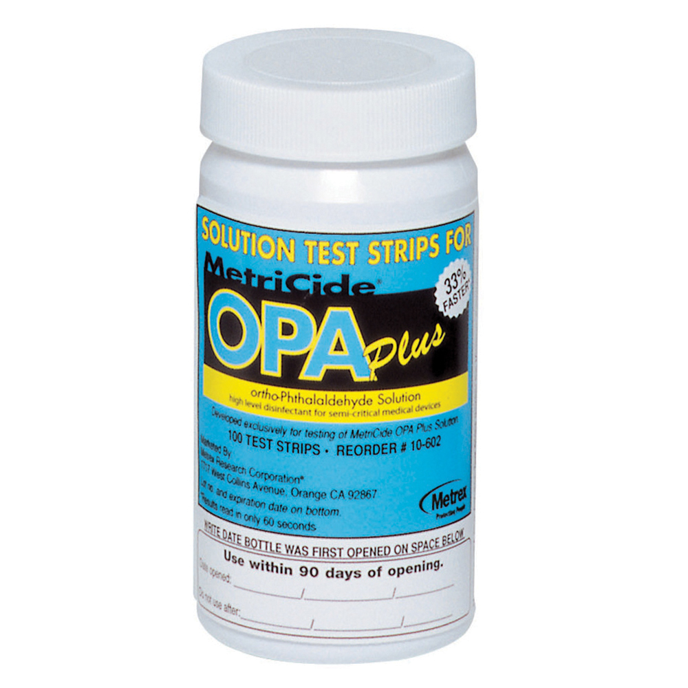 MetriCide OPA Plus Solution Test Strips