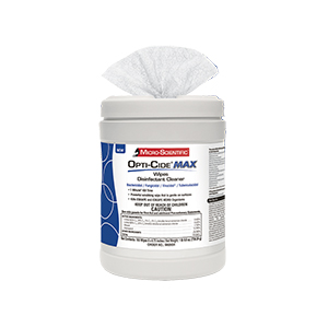 Disinfecting Opticide Max Wipes 6 X 6.75 160 CT