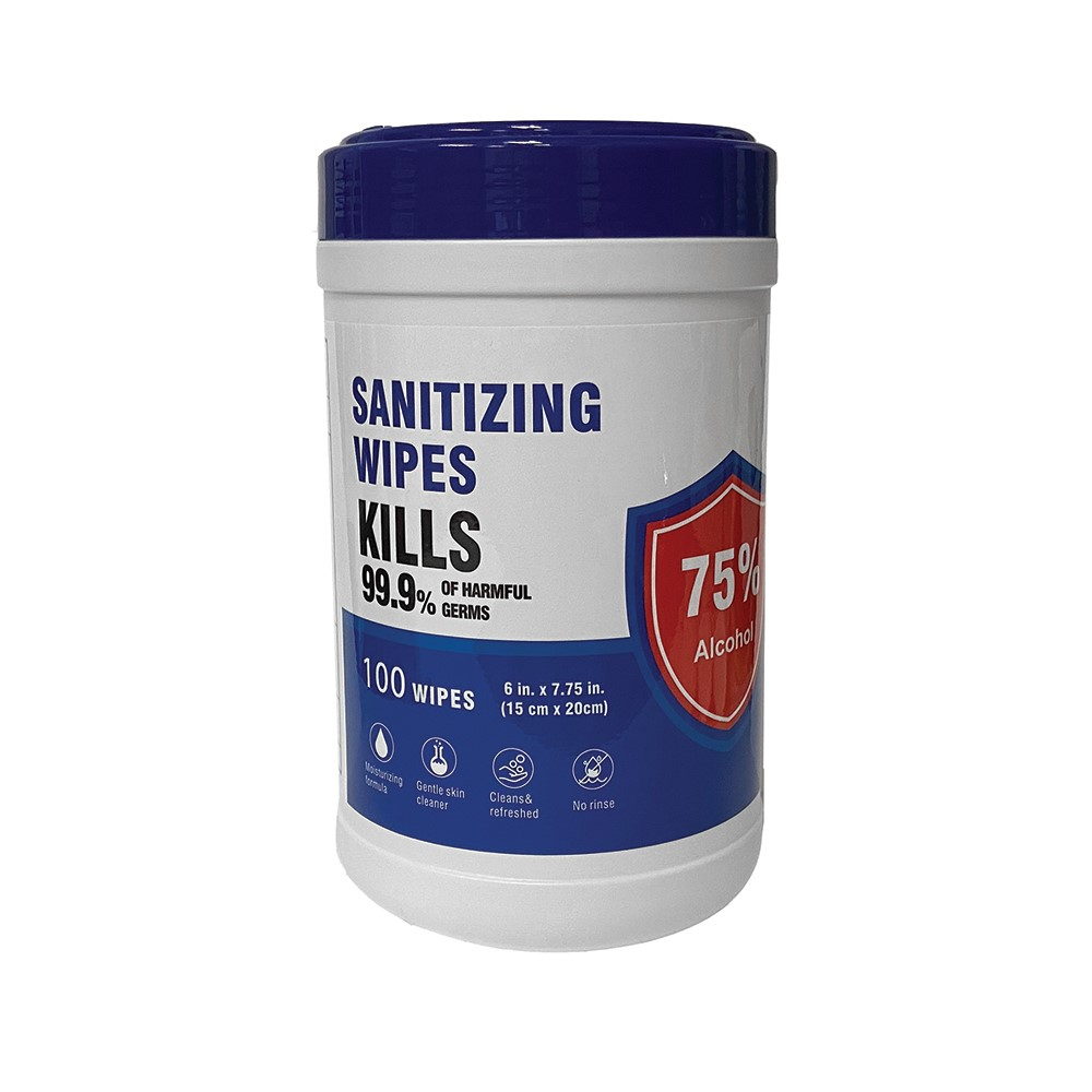 Sanitizing Wipes 75% Ethyl Alcohol