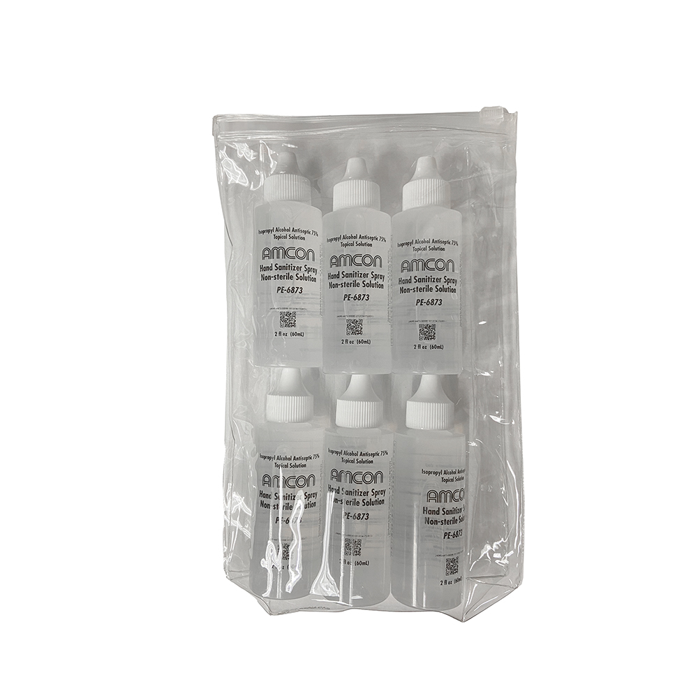 Amcon Hand Sanitizer 2oz - Pack of 6