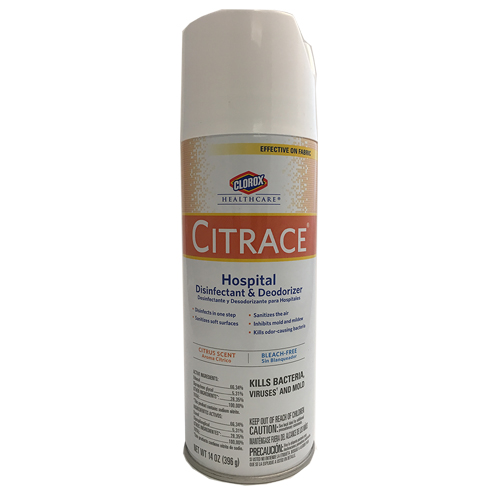 SURFACE DISINFECTANT CLEANER CITRACE 14OZ SPRAY