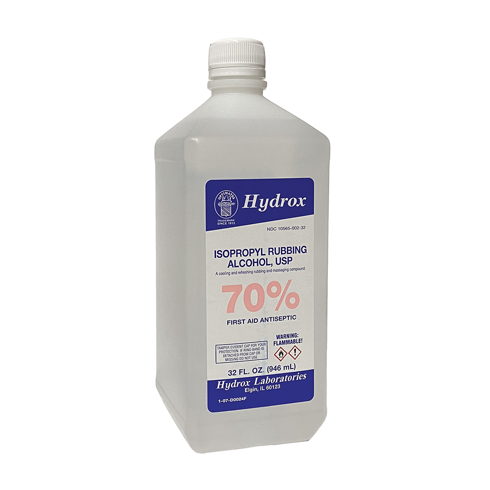 Rubbing Alcohol - 70% Quart