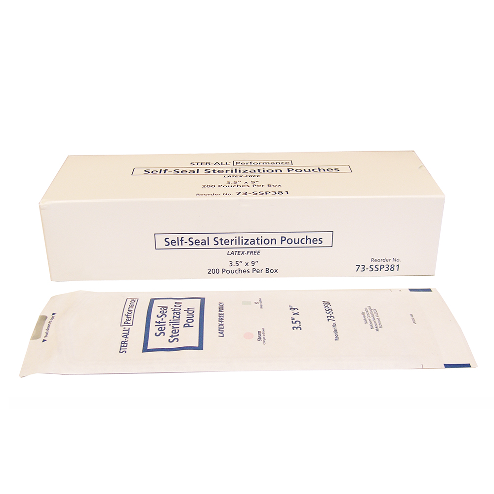 Sterilization Pouch, Self-Sealing