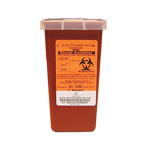 Related Product: Sharps Container - Quart