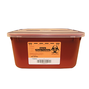 Related Product: Sharps Container - Gallon