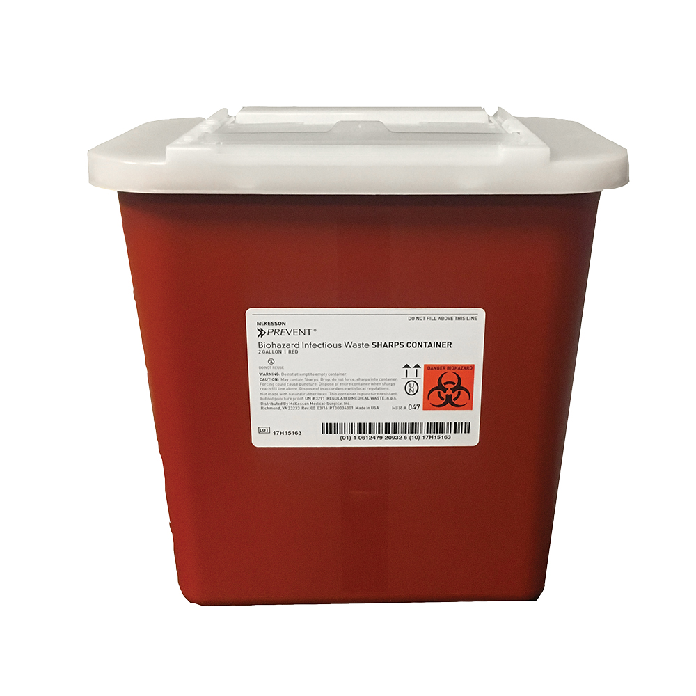 Stackable Sharps Container - 2 Gallon