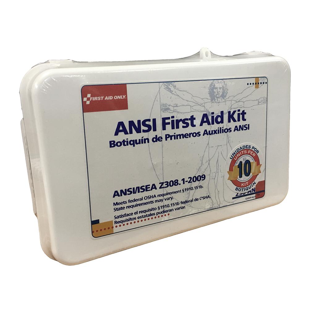 ANSI First Aid Kit (46 piece) - 10 Unit