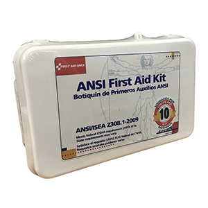 Related Product: ANSI First Aid Kit (46 piece) - 10 Unit
