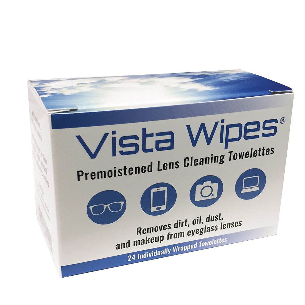 Vista Wipes™ Premoistened Lens Towelettes by Amcon
