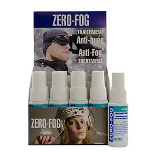 Zero-Fog Anti-Fog, Anti-Static Spray