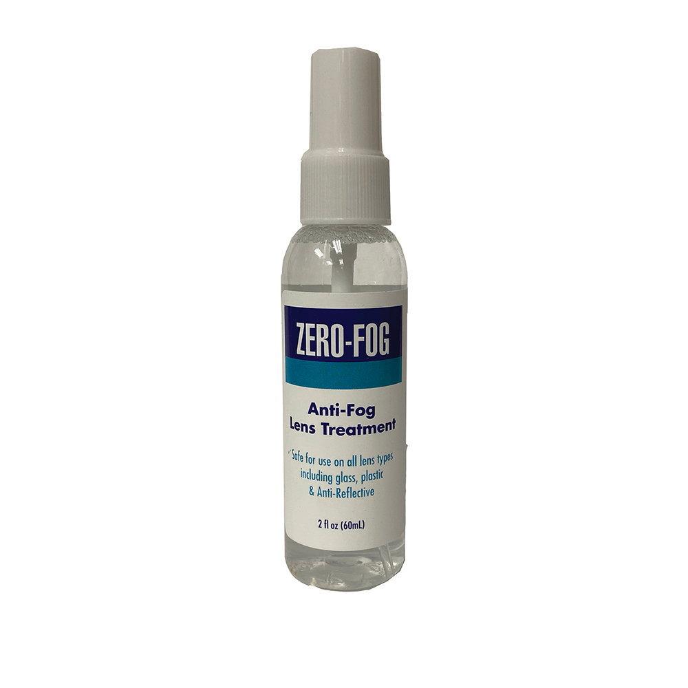 Zero-Fog Anti-Fog, Anti-Static Spray - 2oz