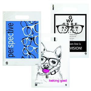 Eye Care Supply Bags - Medium Clear