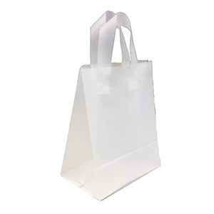 Shopping Bag - Medium, Clear, Frosted