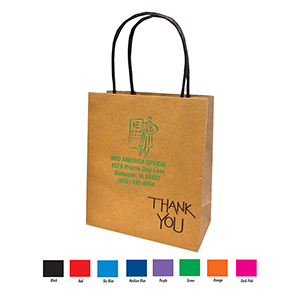 Related Product: Imprinted Eco-Friendly Kraft Paper Bag